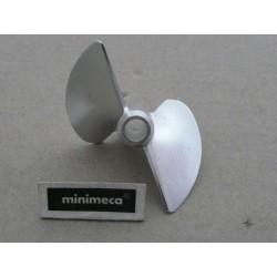 Hélice ø45 CNC alu P/D 1.9