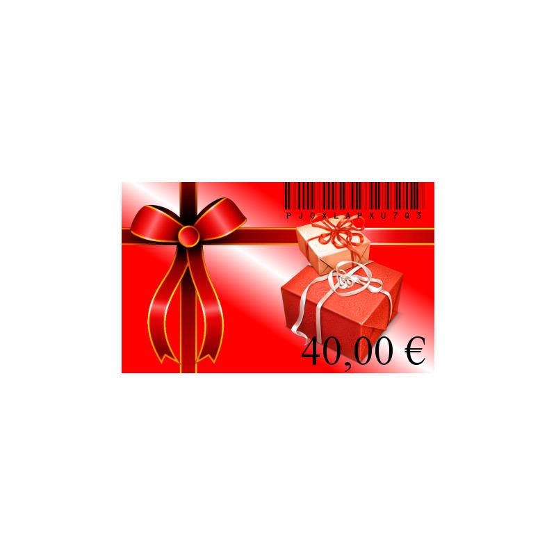 Carte cadeaux 40