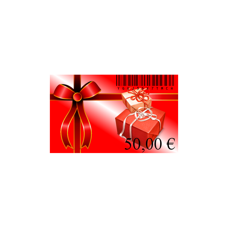 Carte cadeaux 50