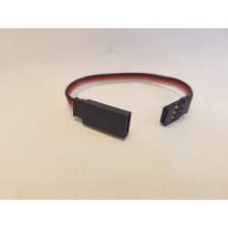 Rallonge câble servo Futaba de 10 cm