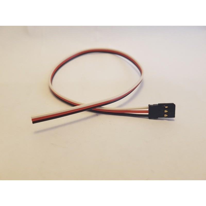 Câble servo FUTABA male de 30 cm