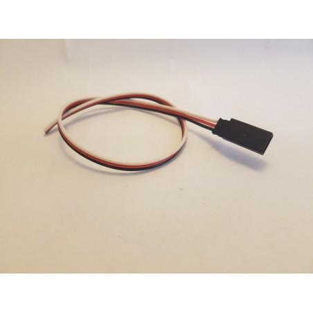 Câble servo FUTABA femelle de 30 cm