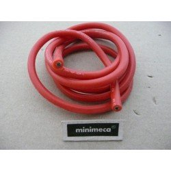Cable silicone 14AWG rouge