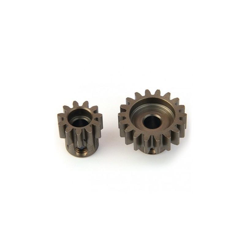 Pignon module 1 acier  18 dents