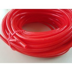 Durite silicone rouge ø4 / ø8