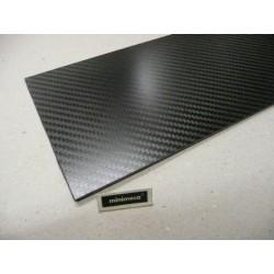 Plaque carbone 2.5 mm