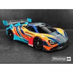 Bittydesign Seven65 carrosserie GT8 (325mm )